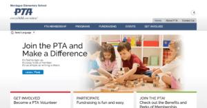 Montague Elementary PTA website
